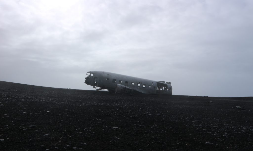 vliegtuigwrak in IJsland vlogdebuurt Eating Habits reizen algemeen uitgelichte albeelding