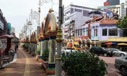 Indiaas eten in Little India Kuala Lumpur