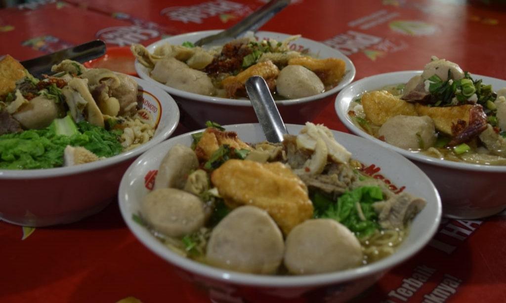 bakso bakmi 68 Singkawang - verschillende soorten baksosoep - Eating Habits