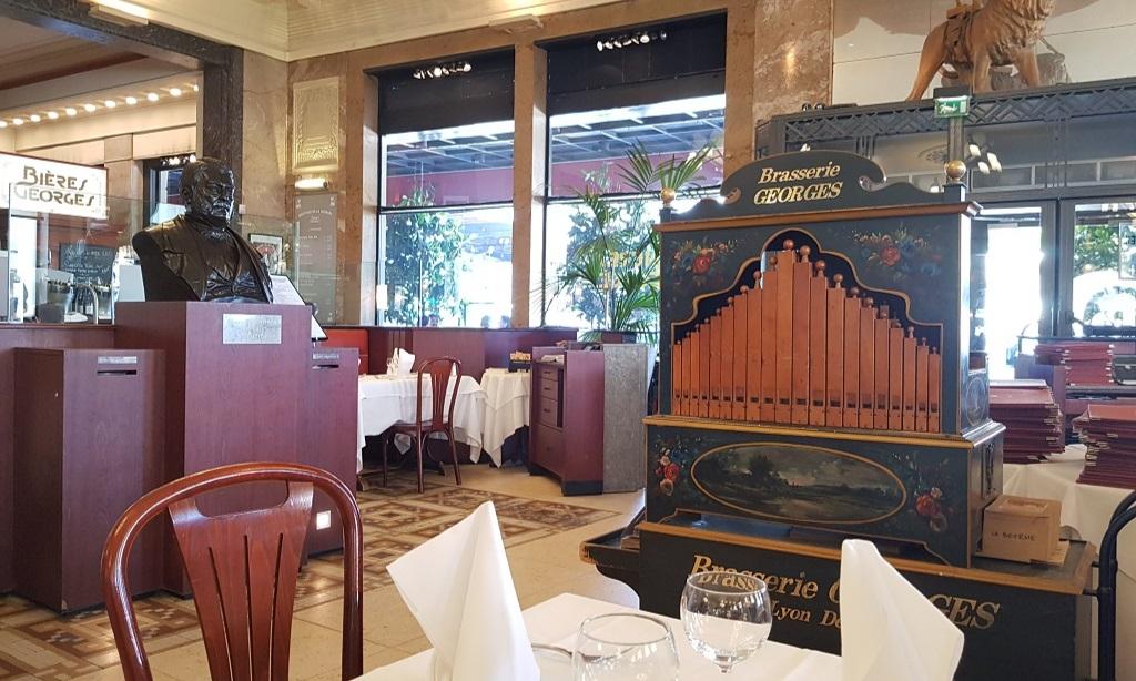 Eten bij Brasserie Georges: de oudste brasserie van Lyon
