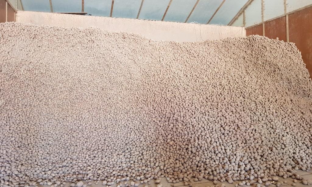 Boerderij Chips aardappelen opslag Eating Habits