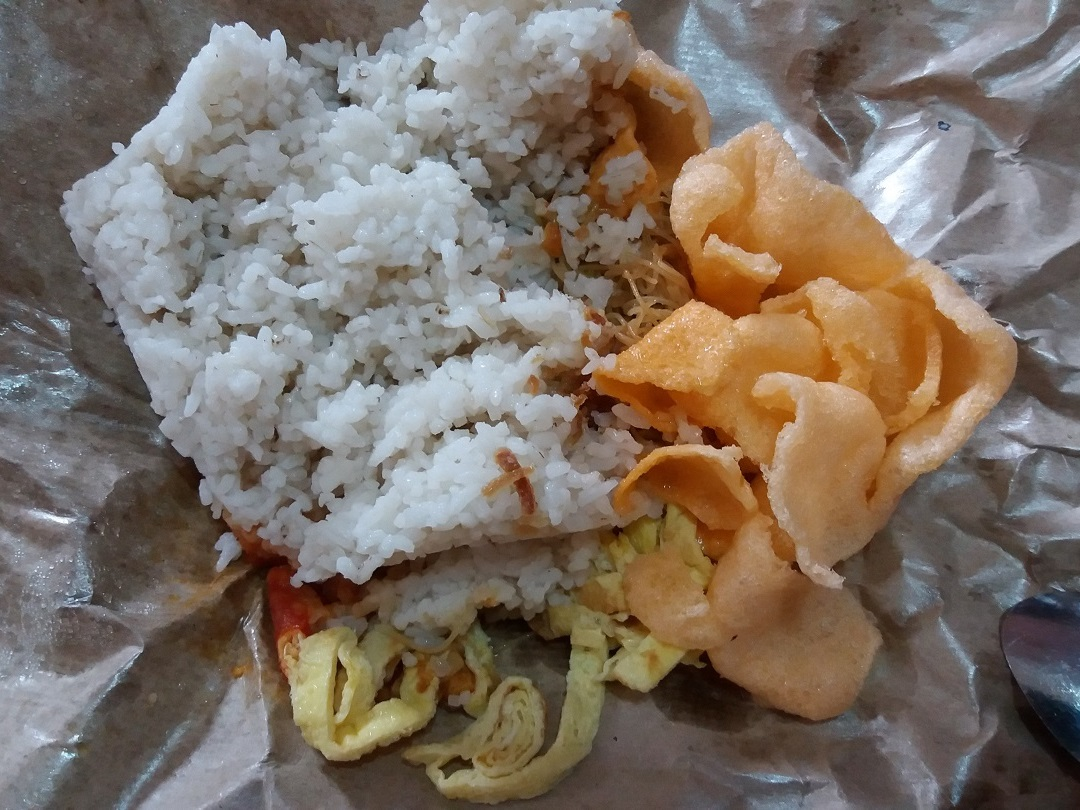 Indofood - Eet als een local in Indonesië - nasi bungkus - Eating Habits