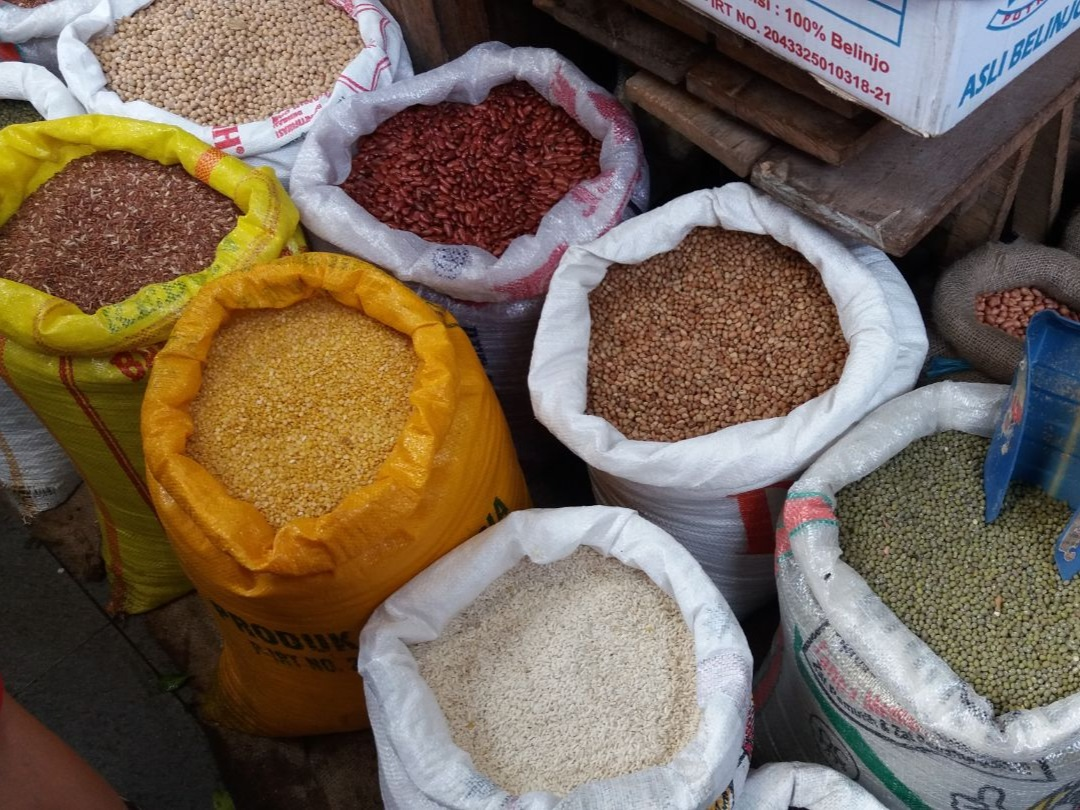 Pasar Flamboyan Pontianak West-Kalimantan - kruiden - Eating Habits