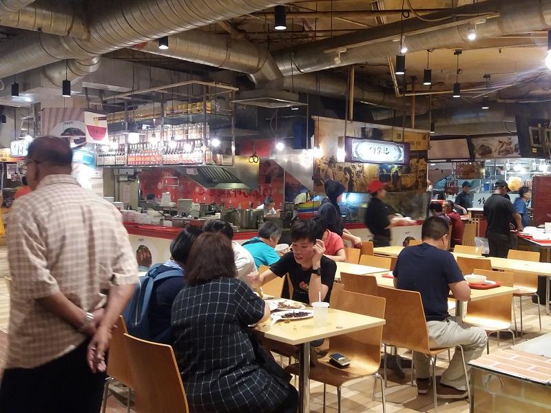 hutong lot 10 Kuala Lumpur foodcourt - Eating Habits