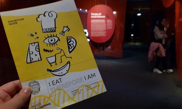 Je mange donc je suis – Musée de l'homme, Parijs