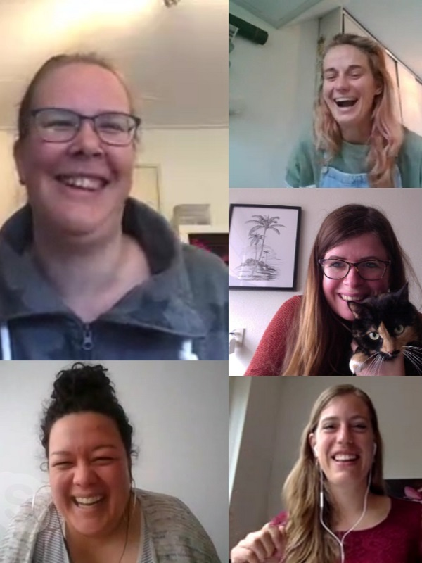 april 2020 - skypen met bloggers - Eating Habits