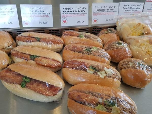 Bakery My Heart broodjes - Japans eten in Düsseldorf - Eating Habits
