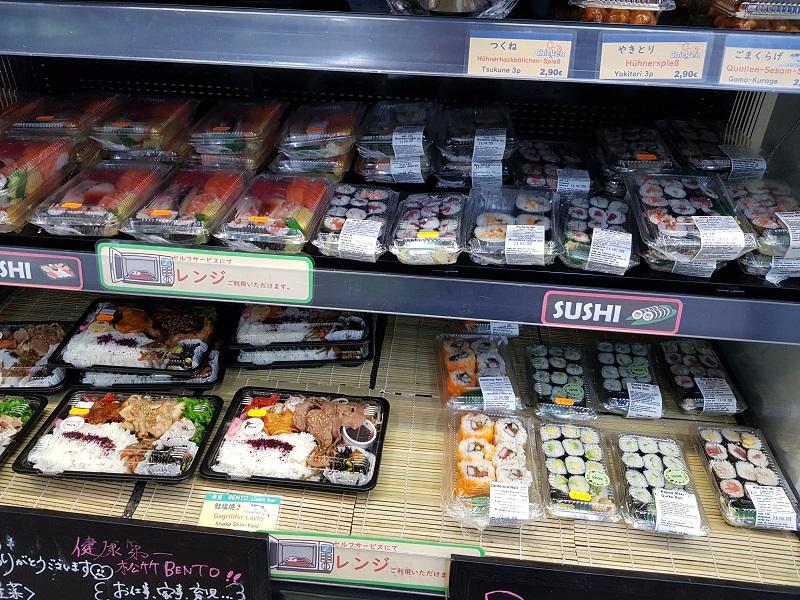 Shochiku bentoboxen- Japans eten in Düsseldorf - Eating Habits