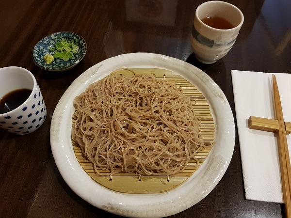 soba noedels - Soba an - Japans eten in Düsseldorf - Eating Habits